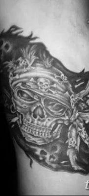 фото тату веселый Роджер от 22.09.2017 №044 – tattoo Jolly Roger – tatufoto.com