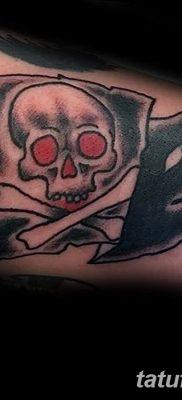 фото тату веселый Роджер от 22.09.2017 №045 – tattoo Jolly Roger – tatufoto.com
