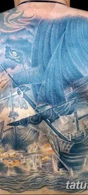 фото тату веселый Роджер от 22.09.2017 №046 – tattoo Jolly Roger – tatufoto.com