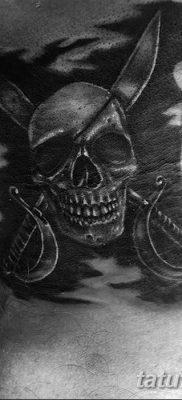 фото тату веселый Роджер от 22.09.2017 №049 – tattoo Jolly Roger – tatufoto.com