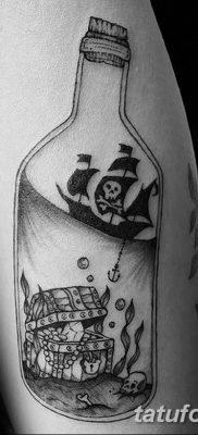 фото тату веселый Роджер от 22.09.2017 №050 – tattoo Jolly Roger – tatufoto.com