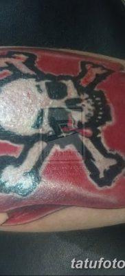 фото тату веселый Роджер от 22.09.2017 №054 – tattoo Jolly Roger – tatufoto.com