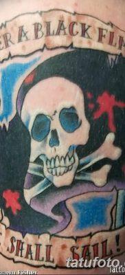 фото тату веселый Роджер от 22.09.2017 №055 – tattoo Jolly Roger – tatufoto.com
