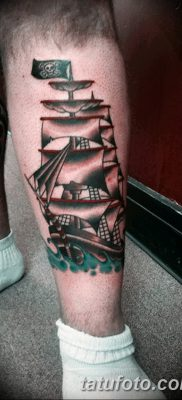 фото тату веселый Роджер от 22.09.2017 №058 – tattoo Jolly Roger – tatufoto.com