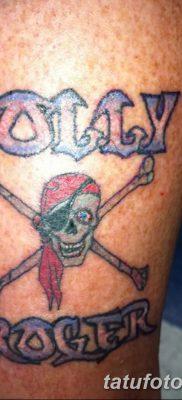 фото тату веселый Роджер от 22.09.2017 №061 – tattoo Jolly Roger – tatufoto.com