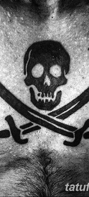 фото тату веселый Роджер от 22.09.2017 №068 – tattoo Jolly Roger – tatufoto.com