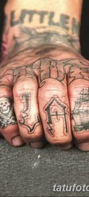 фото тату веселый Роджер от 22.09.2017 №069 – tattoo Jolly Roger – tatufoto.com
