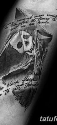 фото тату веселый Роджер от 22.09.2017 №070 – tattoo Jolly Roger – tatufoto.com