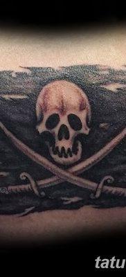 фото тату веселый Роджер от 22.09.2017 №074 – tattoo Jolly Roger – tatufoto.com