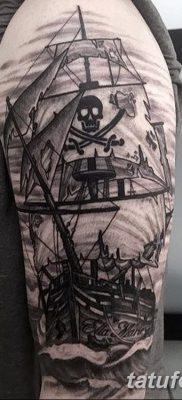 фото тату веселый Роджер от 22.09.2017 №075 – tattoo Jolly Roger – tatufoto.com