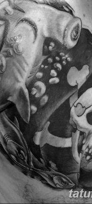фото тату веселый Роджер от 22.09.2017 №076 – tattoo Jolly Roger – tatufoto.com