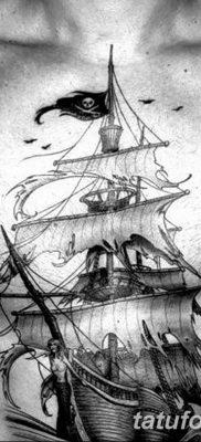 фото тату веселый Роджер от 22.09.2017 №077 – tattoo Jolly Roger – tatufoto.com