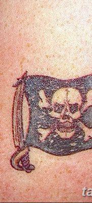 фото тату веселый Роджер от 22.09.2017 №079 – tattoo Jolly Roger – tatufoto.com