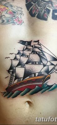 фото тату веселый Роджер от 22.09.2017 №086 – tattoo Jolly Roger – tatufoto.com
