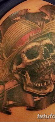 фото тату веселый Роджер от 22.09.2017 №089 – tattoo Jolly Roger – tatufoto.com