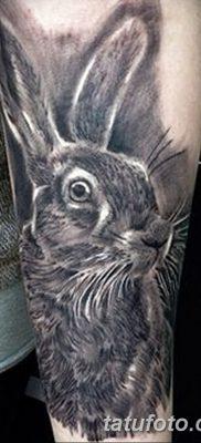 фото тату заяц от 02.09.2017 №044 – tatoos hare – tatufoto.com