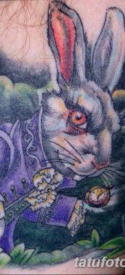 фото тату заяц от 02.09.2017 №047 – tatoos hare – tatufoto.com