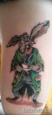 фото тату заяц от 02.09.2017 №082 – tatoos hare – tatufoto.com