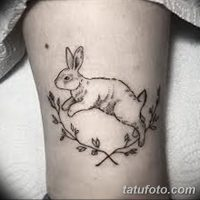 Значение тату заяц