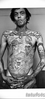 фото тату звезды на плечах от 19.09.2017 №007 – tattoo of a star on the shoul – tatufoto.com