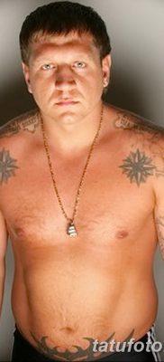 фото тату звезды на плечах от 19.09.2017 №009 – tattoo of a star on the shoul – tatufoto.com