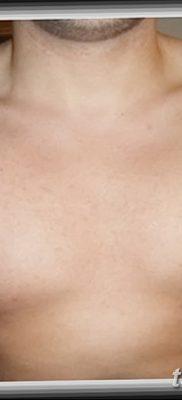 фото тату звезды на плечах от 19.09.2017 №030 – tattoo of a star on the shoul – tatufoto.com