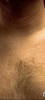 фото тату звезды на плечах от 19.09.2017 №031 – tattoo of a star on the shoul – tatufoto.com