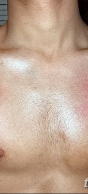 фото тату звезды на плечах от 19.09.2017 №032 – tattoo of a star on the shoul – tatufoto.com