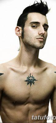 фото тату звезды на плечах от 19.09.2017 №044 – tattoo of a star on the shoul – tatufoto.com 1234542561 35134