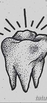 фото тату зуб от 13.09.2017 №002 – tattoo tooth – tatufoto.com