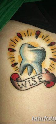 фото тату зуб от 13.09.2017 №005 – tattoo tooth – tatufoto.com