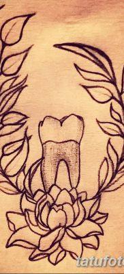 фото тату зуб от 13.09.2017 №008 – tattoo tooth – tatufoto.com
