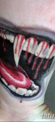 фото тату зуб от 13.09.2017 №117 – tattoo tooth – tatufoto.com