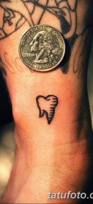 фото тату зуб от 13.09.2017 №119 – tattoo tooth – tatufoto.com