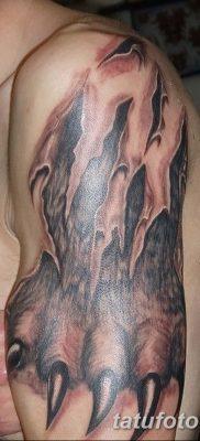 фото тату когти от 13.09.2017 №021 – tattoo claws – tatufoto.com