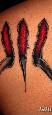 фото тату когти от 13.09.2017 №085 – tattoo claws – tatufoto.com