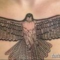 фото тату коршун птица от 12.09.2017 №022 - tattoo kite bird - tatufoto.com