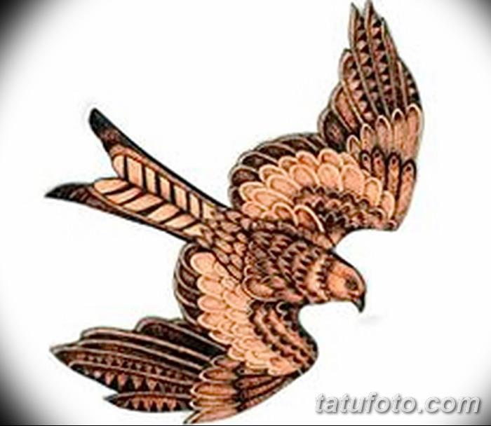 фото тату коршун птица от 12.09.2017 №026 - tattoo kite bird - tatufoto.com