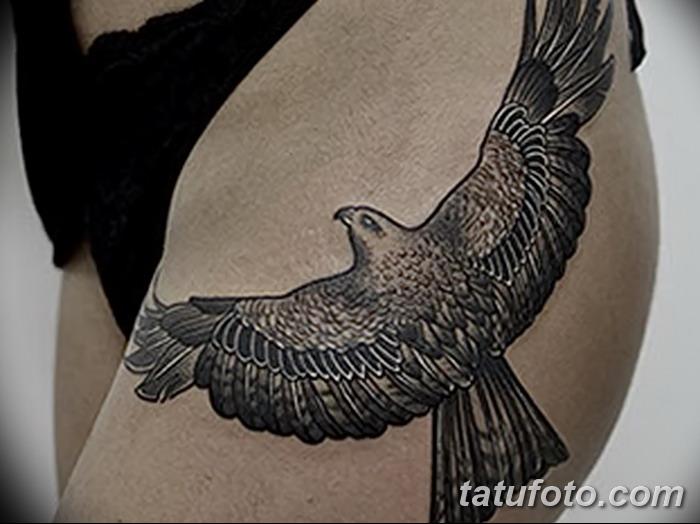 фото тату коршун птица от 12.09.2017 №031 - tattoo kite bird - tatufoto.com