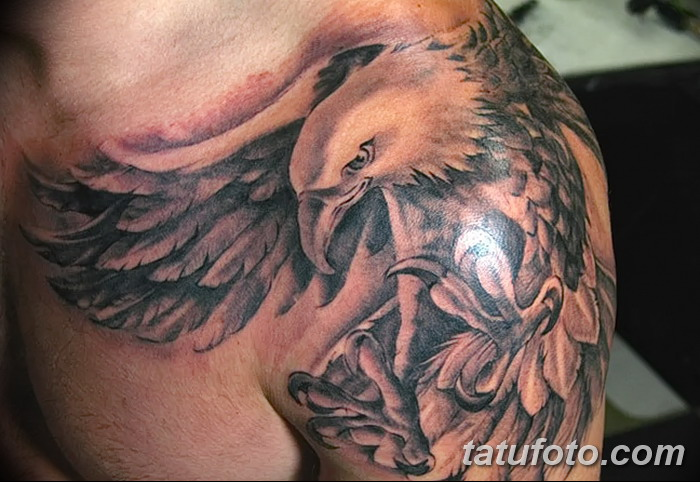 Татуировки орлы фото