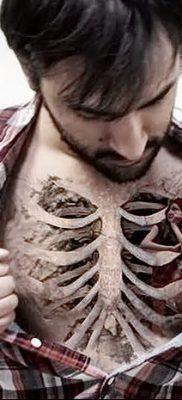 фото тату кости от 23.09.2017 №007 – bone tattoo – tatufoto.com