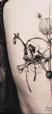 фото тату кости от 23.09.2017 №011 – bone tattoo – tatufoto.com