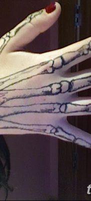 фото тату кости от 23.09.2017 №018 – bone tattoo – tatufoto.com
