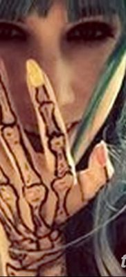 фото тату кости от 23.09.2017 №024 – bone tattoo – tatufoto.com