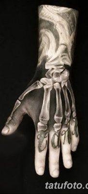 фото тату кости от 23.09.2017 №028 – bone tattoo – tatufoto.com