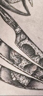 фото тату кости от 23.09.2017 №034 – bone tattoo – tatufoto.com