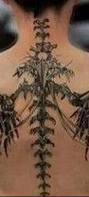 фото тату кости от 23.09.2017 №045 – bone tattoo – tatufoto.com