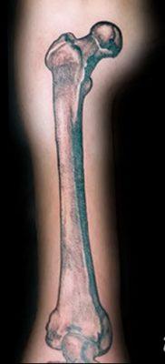 фото тату кости от 23.09.2017 №047 – bone tattoo – tatufoto.com
