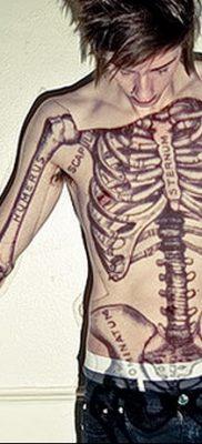фото тату кости от 23.09.2017 №049 – bone tattoo – tatufoto.com