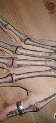 фото тату кости от 23.09.2017 №053 – bone tattoo – tatufoto.com